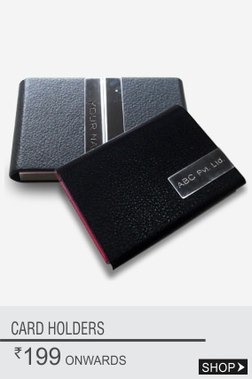 Personalized Corporate Card Holders