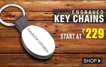 Personalized Stainless Steel Key Chains