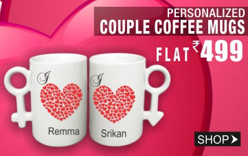 Personalized Couple Coffee Mugs