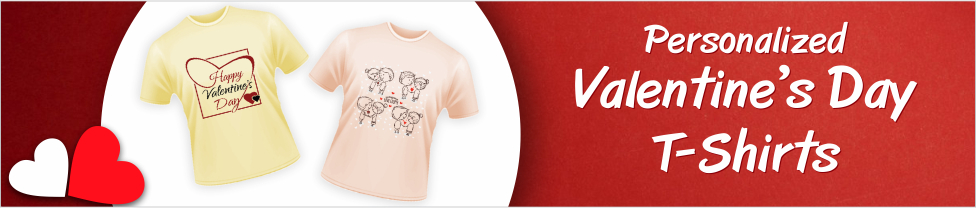 Buy Valentines Day T Shirts Online In India With Custom Photo