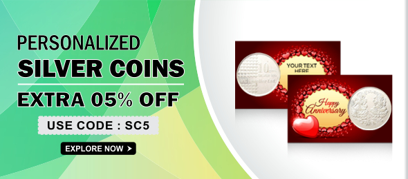 Promotional Silver Coins - Buy Corporate Silver Coin with Custom