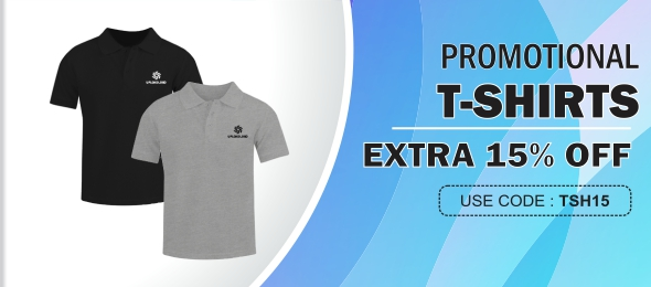 Corporate T Shirts Promotional T Shirts With Logo Printed Bulk