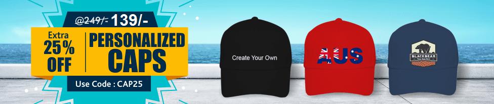 Personalised Cap Printing