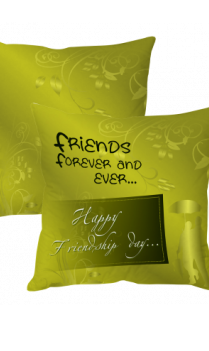 Friendship Day Forever Cushion Cover