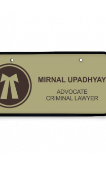 Legal Green Name Plate