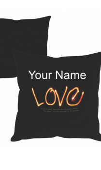 Glowing Love Cushion Cover