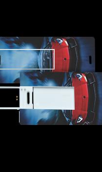 Luxury Car Printed Mini Card Pen Drive