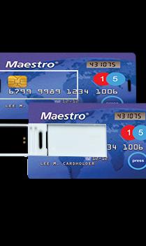 Maestro Card Theme Mini Card Pen Drive