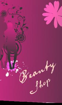 Dazzling Beauty Salon Folder