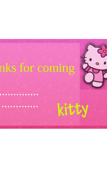 Kitty Gift Card