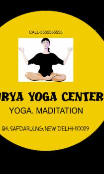 Business Yoga Centre Sticker