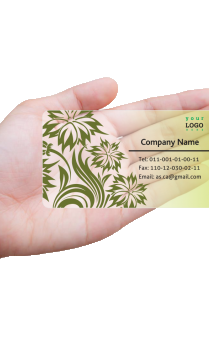 Aspiration Chartered Accountant Transparent Business card