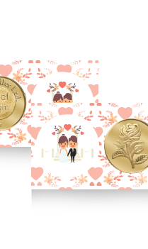 Personalized Amazing Rose Gold Coin