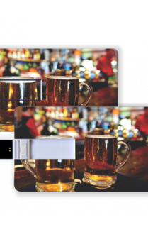 Beer Glasses Card Pen drive