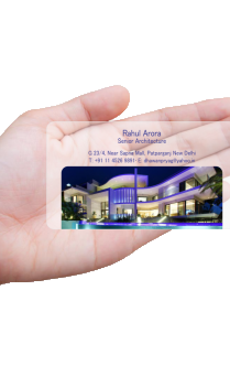 Skillful Architecture Transparent Business card