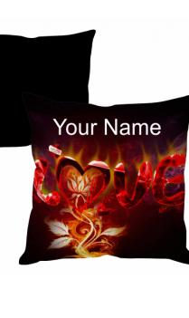 Burning Love Cushion Cover