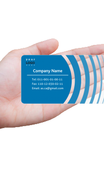 Skillful Chartered Accountant Transparent Business card