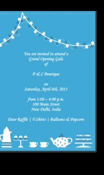 Invitation Cards 3