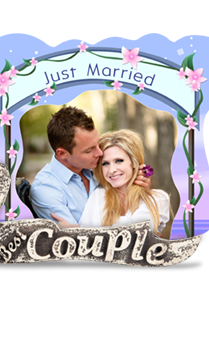 Couple Togetherness Photo Frame