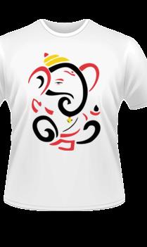 Artistic Ganesha T-Shirt