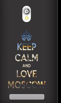 Asus Zenfone 5 Russian Love Black Mobile Cover