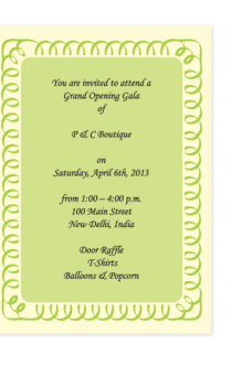 Trade fair show invitation cards online in india with custom invitation cards 4 invitation cards 4 stopboris Gallery