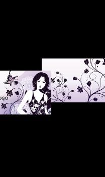 Multiple Flower Card