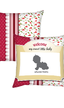 Welcome Baby Cushion Cover
