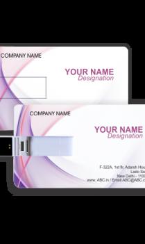 Custom Purple Beats Business Pen Drive ( 8, 16, 32 GB)