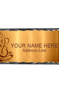 FLAT 20% Off On Personalized Name Plates
