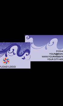 Purple Color Card