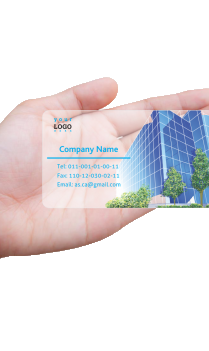 Corporate Chartered Accountant Transparent Business card