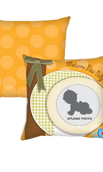 Join Us Baby Cushion Cover