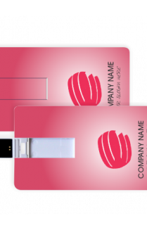 Baby Pink Business Pen Drive (8, 16, 32 GB)