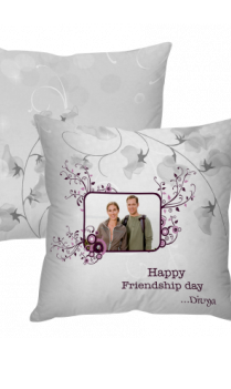 Friendship Day Elegant Cushion Cover