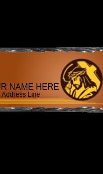 Holy Cross Rock Nameplate
