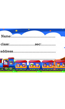 Toy Train Sticker