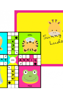 Customize Cute Animals Ludo