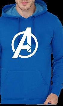 Marel Avenger Blue Hoodie
