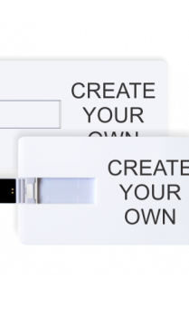 Create Your Own Credit Card Pen Drive 3.0 (16, 32, 64 GB)