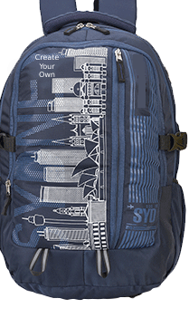 Sydney 35 Ltr (Blue) Backback Bag