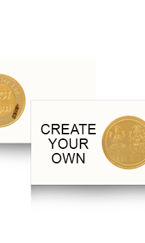 Create Your Own Laxmi Gold Coin
