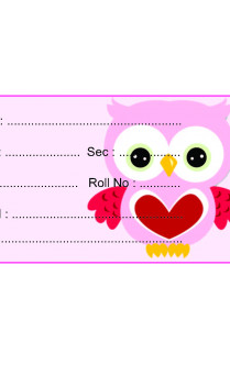 Pink Owl Paper