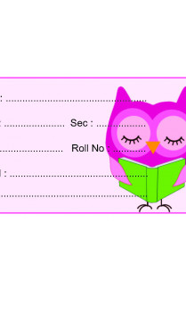 Set of 25 Pcs Seriously Reading Owl Paper