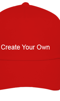Create Your Own Premium Red Cap