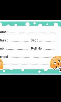Set of 25 Pcs Customize Cute Pumpkin Kids Sticker