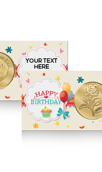 Personalised Birthday Rose Gold Coin