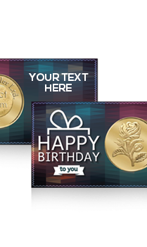 Happy Birthday Rose Gold Coin