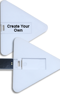 Create Your Own Triangle Shape Pen Drive