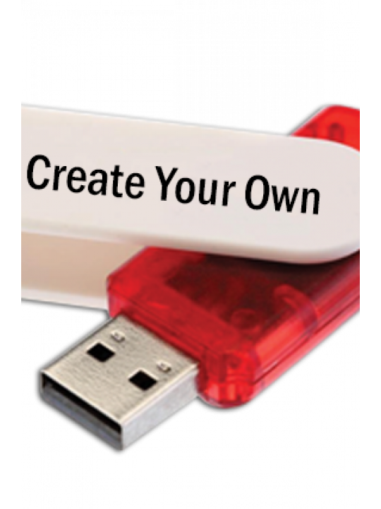Create Your Own Moserbaer Swivel Pen Drives